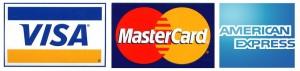 VISA, MasterCard, AMERICANEXPRESS